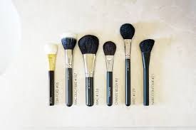 the beauty look book essentials face and cheek brushes the beauty look book