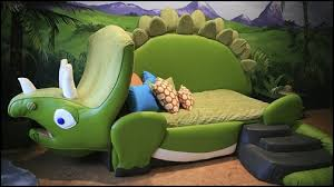 WOW what an awesome bed, ideal fun furniture for the dinosaur theme bedroom