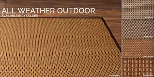 polypropylene outdoor rugs by color amp style sisal
