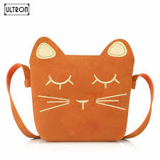 <b>Ultron Children Mini</b> Cartoon Cat Shoulder Bag Crossbody Bags For ...