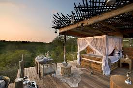 Outdoor Bedroom Lion Sands Game Reserve Treehouses In Addition To Luxury