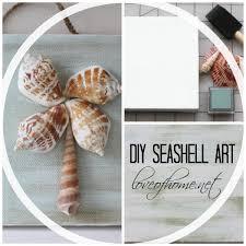 DIY Seashell Art | Love of Home