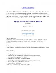 Cover Letter Cook Resume Templates Cook Resume Templates Free