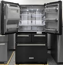 Kitchen Aid French Door Kitchenaid Krmf706ebs Refrigerator Review Reviewedcom Refrigerators
