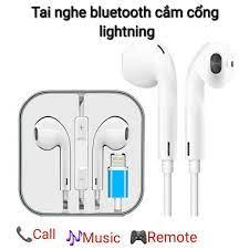 Tai nghe bắt bluetooth cắm cổng lightning dành cho iphone 7/8/x/11 pro max