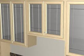 image of replace glass kitchen cabinet doors
