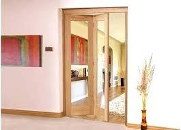 interior bifold doors interior door with frosted glass