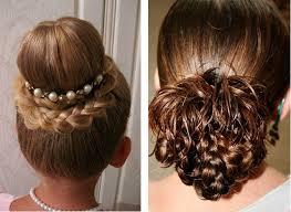 účesy Pro Dívky 3 Roky Pro Krátké Vlasy Trojitý Obrácený Ocas