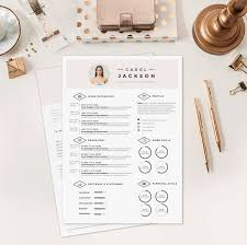 Modern Resume Template Oddbits Studio Free Download Resume Cv Design Cover Letter Template For Word Por Oddbitsstudio