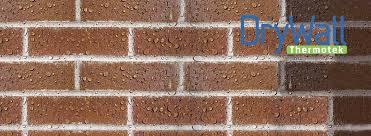 waterproofing brickwork peter