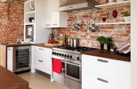 exposed brick and loads of character