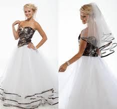 discount 2016 new arrival spring camo wedding dresses a line