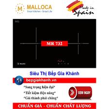 Bếp hồng ngoại đôi Malloca MR 732 nhập khẩu Tây Ban Nha
