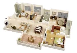 Beautiful 2 Bedroom House Designs 25 More 3 Bedroom 3d Floor Plans