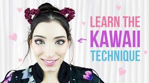 cute anese kawaii doll makeup tutorial