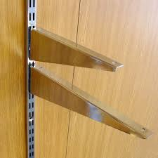 twin slot wood shelf brackets assorted sizes