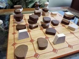 Wooden Othello Board Game An idea to make pure and themeless abstract strategy games have 100