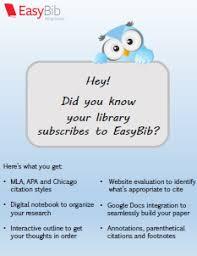 EasyBib Alternatives and Similar Software   AlternativeTo net EasyBib Mla format citing article essay Carpinteria Rural Friedrich