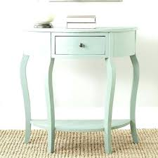 half circle accent table tablecloth for small