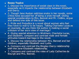 lecture of book two jane austen pride and prejudice ppt  36 essay topics