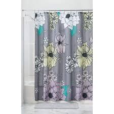 medium size of interdesign constant tension shower curtain rod thistle fabric eva liner forest water repellent