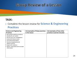 Constructing Explanations And Designing Solutions Examples Ppt Investigating The Next Generation Science Standards
