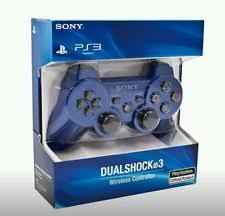 ps3 controllers brand new sealed sony playstation 3 ps3 dualshock 3 wireless controller blue