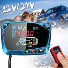 2Pcs <b>12V</b>/<b>24V LCD Monitor Switch</b> + LCD Remote Control For Car ...