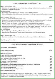 Electrician Resume Examples Magnificent Journeyman Electrician Resume New Journeyman Electrician Resume