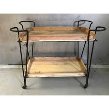 wood and iron furniture. Serving Trolley 2-l Wood/iron Wood And Iron Furniture