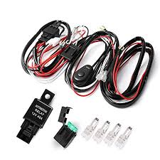 auxbeam® led light bar wiring harness kit 12v 40amp fuse relay on auxbeam led light bar wiring harness kit 12v