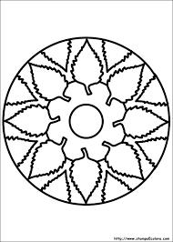 Disegni Di Mandala Da Colorare Con Mandala Da Colorare Per Bambini E