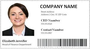 Company Id Badge Template Employee Id Badge Template Cards 1 Good Include Card Free