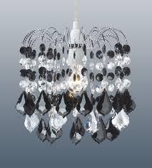 acrylic crystal drops chandelier ceiling light pendant shades lightshades