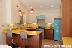 Mid Century Modern Kitchen Cabinets, U Shaped Kitchen Design
