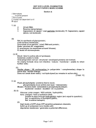 a level h biology cancer essay example question 2007 a level h2 biology p2 ans