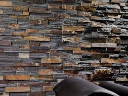 Faux Stone Veneer Interior Wall Uniflame Electric Fireplace Faux - Exterior stone cladding panels