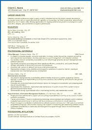 Entry Level Objectives For Resume Objective For Resume Accounting Entry Level Emberskyme 20