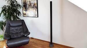 Beton Stehlampe Stehleuchte Lucerna Vexillum Black Edition Led