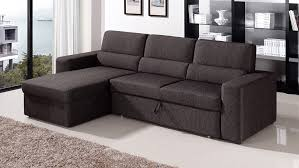 Modern Pull Out Couch Black Sectional Sofasthis Twoseater Comes With A Matching Ottoman