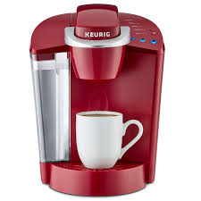 keurig k50 classic single serve k cup pod coffee maker red 0