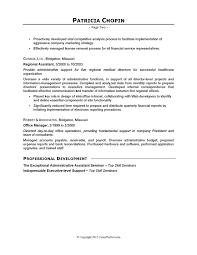 Executive Assistant Job Resume Example