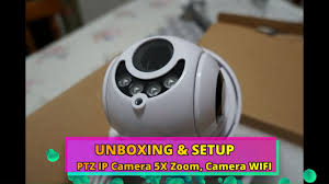Unboxing Full <b>HD 1080P PTZ IP</b> Camera 5X Zoom Unpacking ...