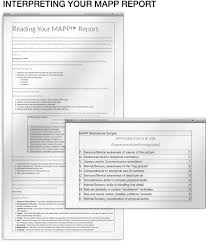 information about the mapp assessment assessment com interpreting your mapp report