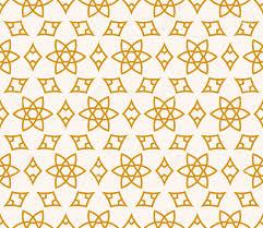Naadloze Achtergrond In Arabische Stijl Goud Zwart Blauw Behang