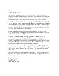 Personal Reference Letter For Student Example Reference Letter For Student Teacher Sample