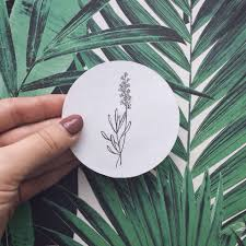 сделать татуировку ботаника минимализм в городе москва по эскизу