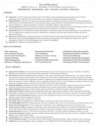 Performance Engineer Sample Resume Performance Engineer Sample Resume shalomhouseus 1