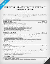 sample resume objectives administrative assistant sample office assistant resume