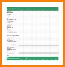 5+ free printable balance sheet template   st columbaretreat house